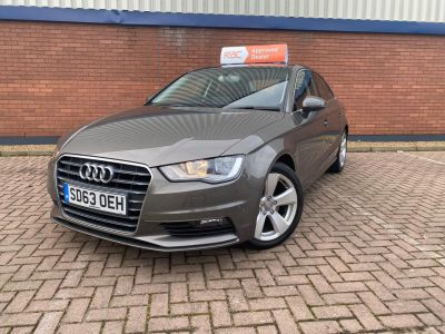 Audi A3 1.8 TFSI Sport 4dr S Tronic Saloon Petrol Grey at 1st Choice Motors London