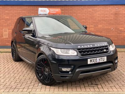 Land Rover Range Rover Sport 3.0 SDV6 [306] HSE Dynamic 5dr Auto Estate Diesel Black at 1st Choice Motors London