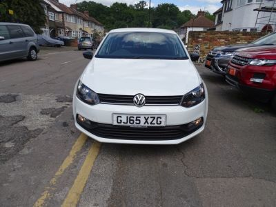 Volkswagen Polo 1.0 S 5dr [AC] Hatchback Petrol White at 1st Choice Motors London