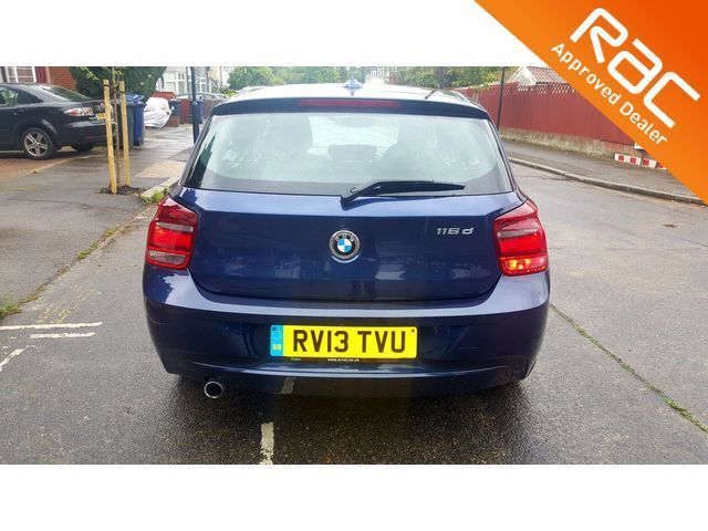 2013 BMW 1 Series 2.0 116d SE 5dr Step Auto