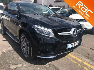 Mercedes-Benz Gle Coupe 3.0 GLE 350d 4Matic AMG Line Premium Plus 5dr 9G-Tron Coupe Diesel Black at 1st Choice Motors London