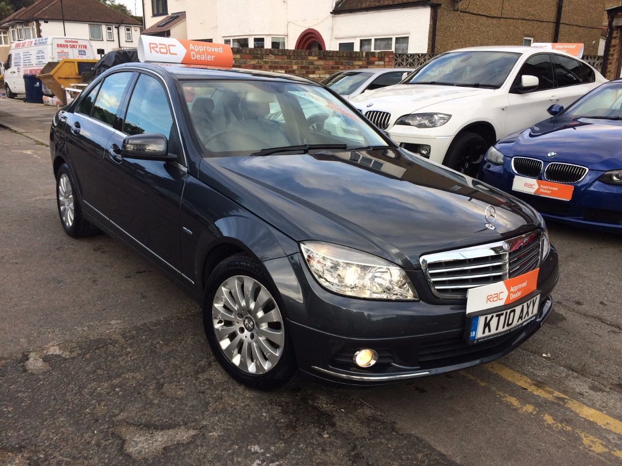 2010 Mercedes-Benz C Class 1.8 C180 CGI BlueEFFICIENCY Elegance 4dr Auto