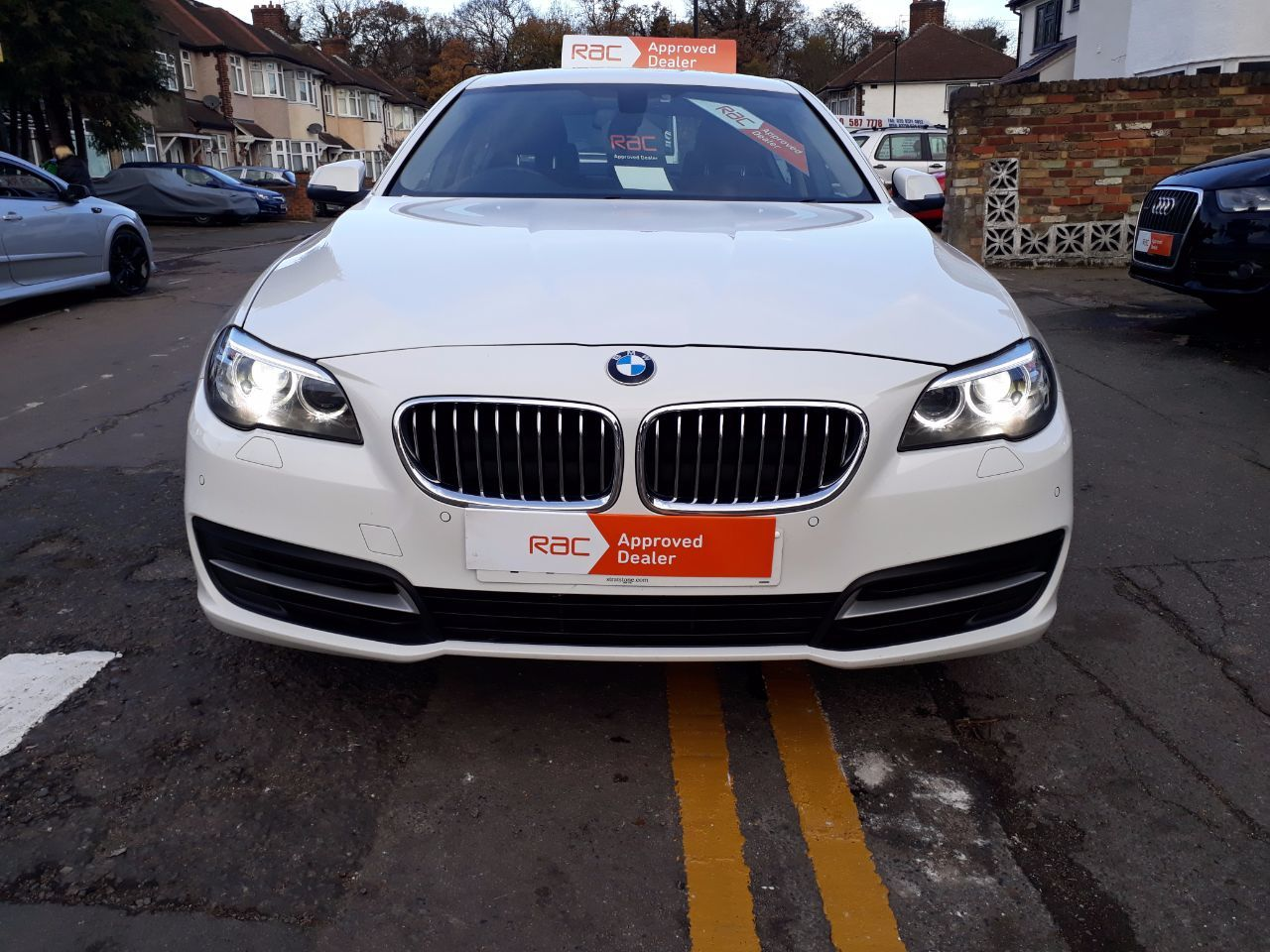 2014 BMW 5 Series 2.0 520d [190] SE 4dr Step Auto