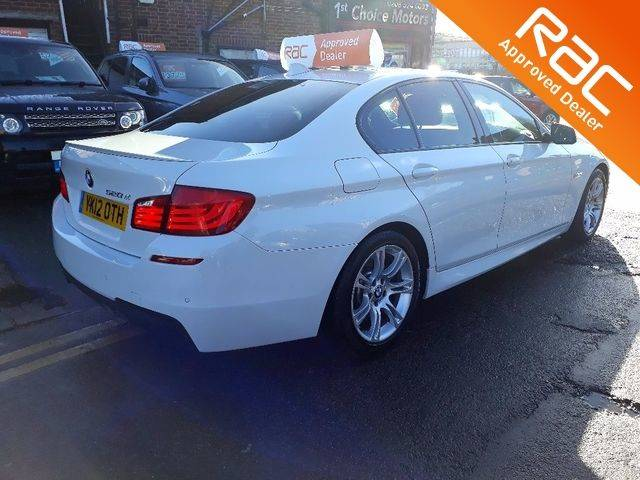 2012 BMW 5 Series 2.0 520d M Sport 4dr Step Auto [Start Stop]