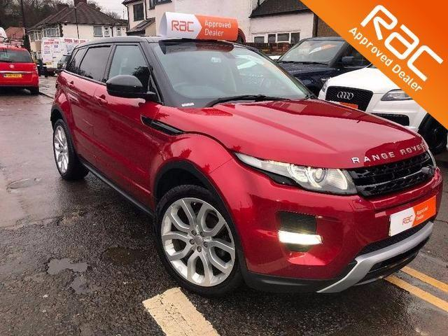2014 Land Rover Range Rover Evoque 2.2 SD4 Dynamic 5dr