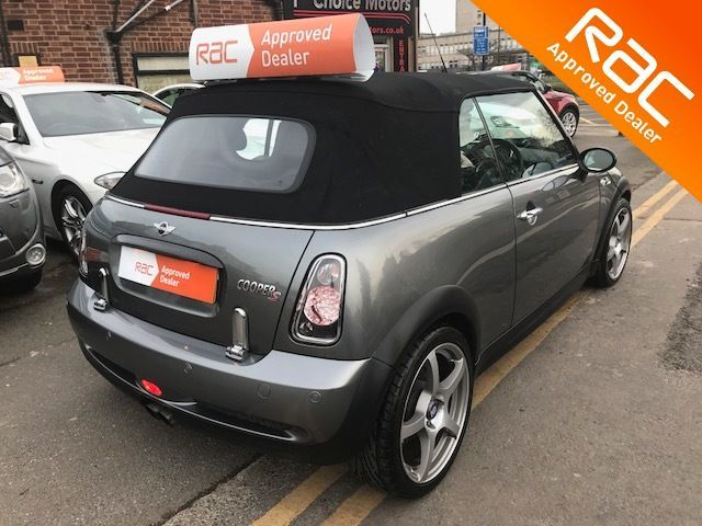 2006 Mini Convertible 1.6 Cooper S 2dr