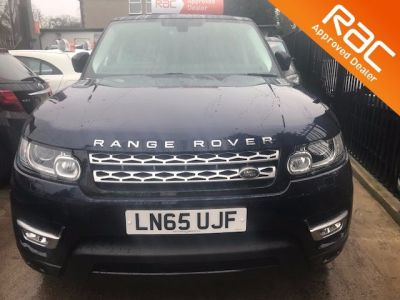 Land Rover Range Rover Sport 3.0 SDV6 [306] HSE 5dr Auto Estate Diesel Blue at 1st Choice Motors London