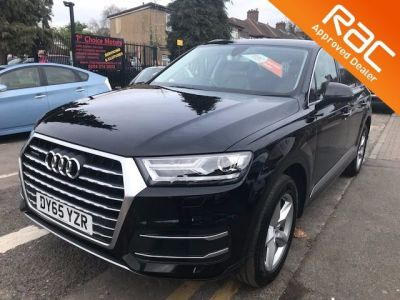Audi Q7 3.0 TDI Quattro SE 5dr Tip Auto Estate Diesel Black at 1st Choice Motors London