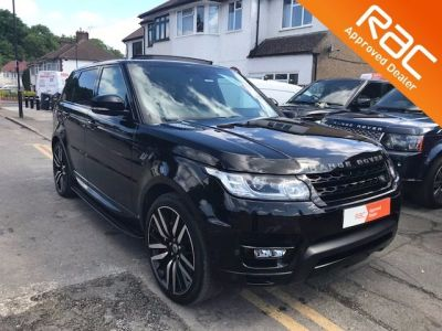 Land Rover Range Rover Sport 3.0 SDV6 HSE Dynamic 5dr Auto Estate Diesel Black at 1st Choice Motors London
