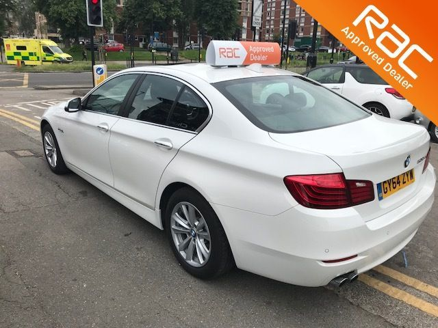 2015 BMW 5 Series 2.0 520d [190] SE 4dr Step Auto