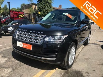 Land Rover Range Rover 3.0 TDV6 Vogue 4dr Auto Estate Diesel Black at 1st Choice Motors London