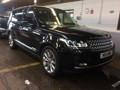 Land Rover Range Rover 3.0 Estate Diesel Black at 1st Choice Motors London