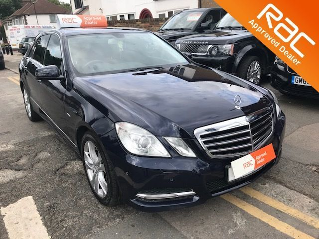 2011 Mercedes-Benz E Class 2.1 E220 CDI BlueEFFICIENCY Executive SE 4dr Tip Auto