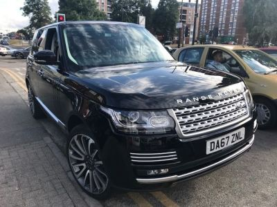 Land Rover Range Rover 3.0 TDV6 Vogue SE 4dr Auto Estate Diesel Black at 1st Choice Motors London
