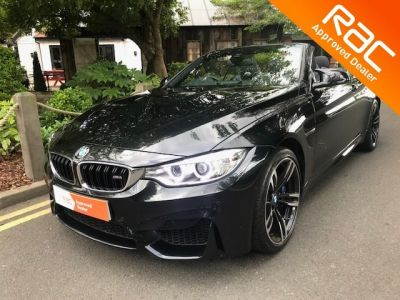 BMW M4 3.0 M4 2dr DCT Convertible Petrol Black at 1st Choice Motors London