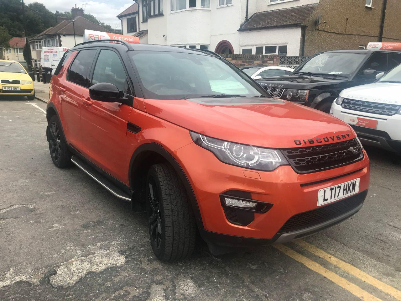 2017 Land Rover Discovery Sport 2.0 TD4 180 HSE Luxury 5dr Auto
