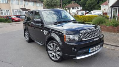 Land Rover Range Rover Sport 0.0 3.0 sd v6 SUV Diesel Black at 1st Choice Motors London