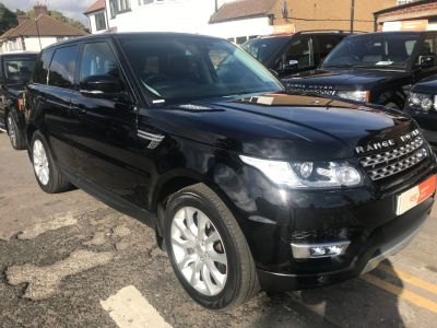 Land Rover Range Rover Sport 3.0 SDV6 HSE 5dr Auto Estate Diesel Black at 1st Choice Motors London