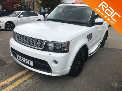 Land Rover Range Rover Sport 3.0 SDV6 Autobiography Sport 5dr Auto Estate Diesel White at 1st Choice Motors London