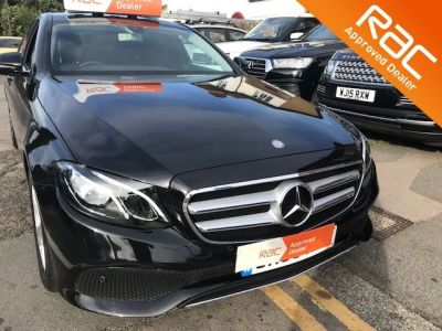 Mercedes-Benz E Class 2.0 E220d SE 4dr 9G-Tronic Saloon Diesel Black at 1st Choice Motors London