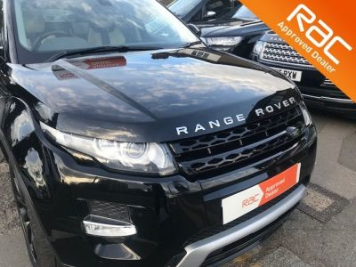Land Rover Range Rover Evoque 2.2 SD4 Dynamic 5dr Auto [9] [Lux Pack] Estate Diesel Black at 1st Choice Motors London