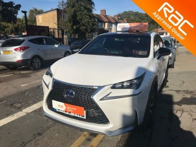 Lexus Nx 300h 2.5 F-Sport 5dr CVT Estate Petrol / Electric Hybrid White at 1st Choice Motors London