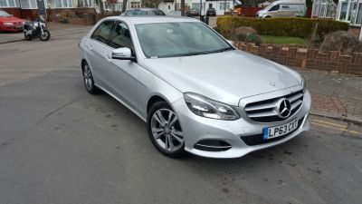 Mercedes-Benz E Class 2.1 E220 CDI SE 4dr 7G-Tronic Saloon Diesel Silver at 1st Choice Motors London