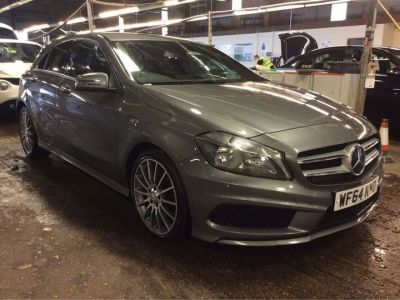 Mercedes-Benz A Class A200 [2.1] CDI AMG Sport 5dr Auto Hatchback Diesel Grey at 1st Choice Motors London