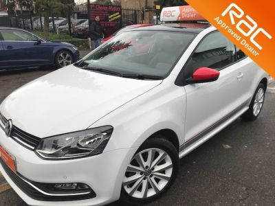 Volkswagen Polo 1.2 TSI Beats 3dr Hatchback Petrol White at 1st Choice Motors London