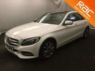 Mercedes-Benz C Class 2.0 C350e Sport Premium 4dr Auto Saloon Petrol / Electric Hybrid White at 1st Choice Motors London