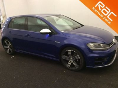 Volkswagen Golf 2.0 TSI R 5dr Hatchback Petrol Blue at 1st Choice Motors London