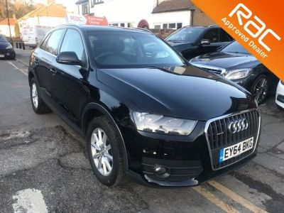 Audi Q3 2.0 TDI [177] Quattro SE 5dr S Tronic Estate Diesel Black at 1st Choice Motors London