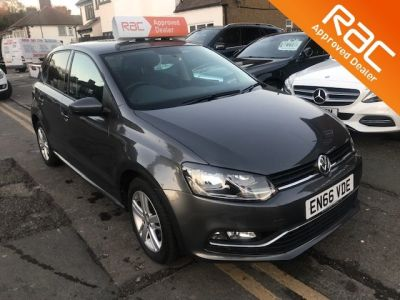 Volkswagen Polo 1.2 TSI Match 5dr DSG Hatchback Petrol Grey at 1st Choice Motors London