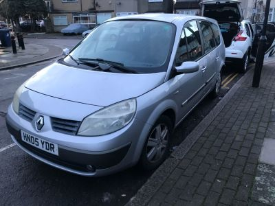 Renault Grand Scenic 1.6 VVT Dynamique 5dr MPV Petrol Silver at 1st Choice Motors London