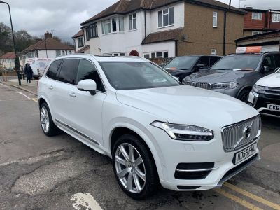 Volvo XC90 2.0 T8 Hybrid Inscription 5dr Geartronic Estate Petrol / Electric Hybrid White at 1st Choice Motors London