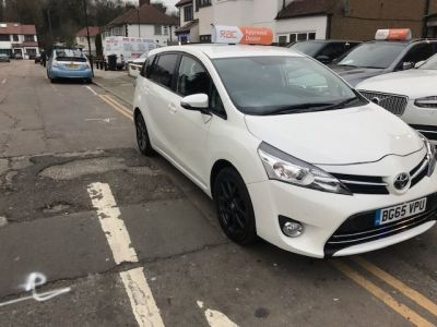 Toyota Verso 1.6 D-4D Trend 5dr MPV Diesel White at 1st Choice Motors London