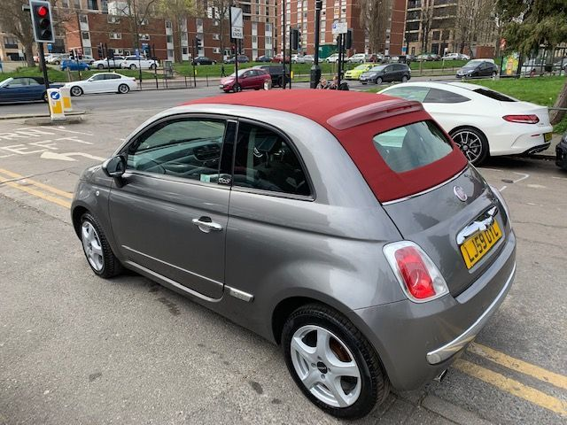 2009 Fiat 500 1.2 Lounge 2dr [Start Stop]