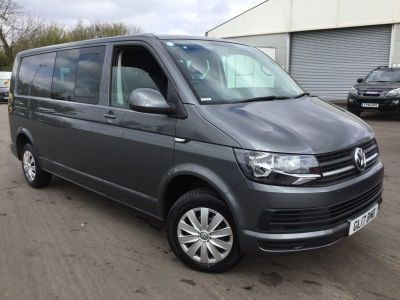 Volkswagen Transporter 2.0 TDI BMT 150 Trendline Kombi Van Crew Van Diesel Grey at 1st Choice Motors London
