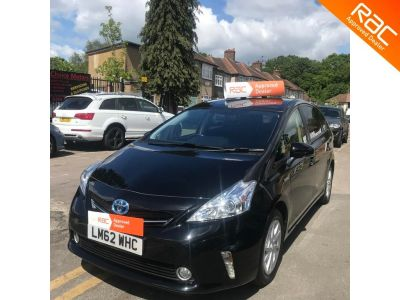Toyota Prius 1.8 VVTi T4 5dr CVT Auto MPV Petrol / Electric Hybrid Black at 1st Choice Motors London