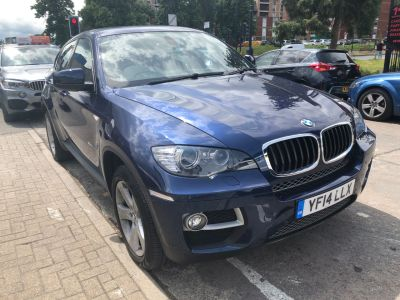 BMW X6 3.0 xDrive30d [245] 5dr Step Auto Coupe Diesel Blue at 1st Choice Motors London