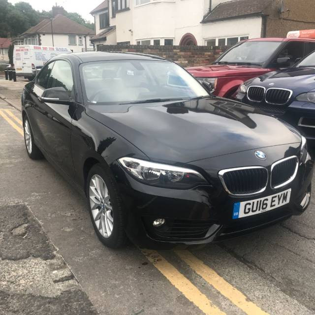 2016 BMW 2 Series 1.5 218i SE 2dr Step Auto