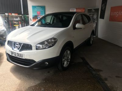 Nissan Qashqai+2 1.5 dCi [110] Acenta 5dr Hatchback Diesel White at 1st Choice Motors London