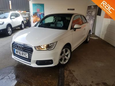 Audi A1 1.0 TFSI Sport 3dr Hatchback Petrol White at 1st Choice Motors London