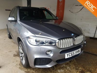 BMW X5 2.0 xDrive40e M Sport 5dr Auto Estate Petrol / Electric Hybrid Grey at 1st Choice Motors London