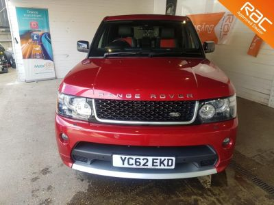 Land Rover Range Rover Sport 3.0 SDV6 HSE RED Edition 5dr Auto Estate Diesel Red at 1st Choice Motors London