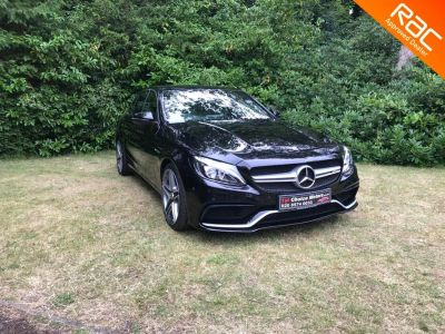 Mercedes-Benz C Class 4.0 C63 AMG Speedshift MCT (s/s) Saloon Petrol Black at 1st Choice Motors London