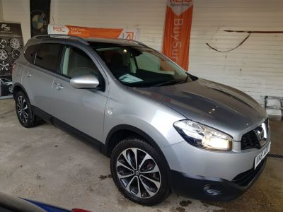 Nissan Qashqai+2 1.5 dCi [110] N-Tec 5dr Hatchback Diesel Silver at 1st Choice Motors London
