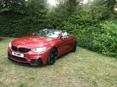 BMW M4 3.0 M4 2dr DCT Convertible Petrol Orange at 1st Choice Motors London