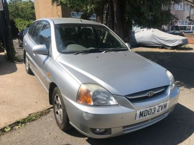 Kia Rio 1.5 SE 5dr Auto Hatchback Petrol Silver at 1st Choice Motors London