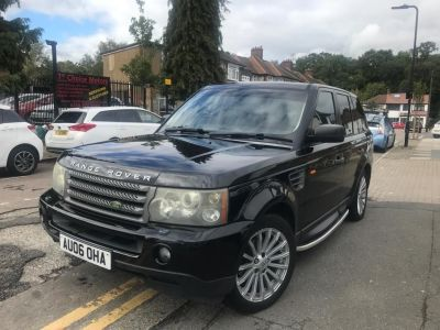 Land Rover Range Rover Sport 2.7 TDV6 HSE 5dr Auto Estate Diesel Black at 1st Choice Motors London